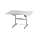 Working and Drawing Table - Height and Slant adjustable