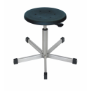 Stainless steel swivel stool Model 3911 with Gliders,...
