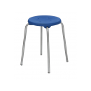 Stacking Stool Stainless Steel Model 3258, Height 58 cm...